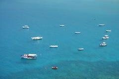 Praias maravilhosas do mani - greece imagens de stock royalty free