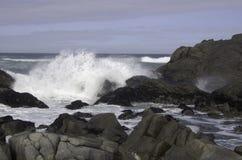 Praias rochosas em África Foto de Stock