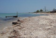 Praias selvagens de Kos Fotografia de Stock Royalty Free