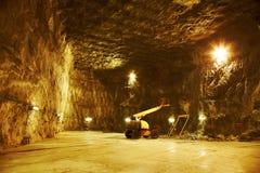 Praid salt mine Stock Image