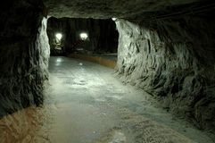 Praid underground salt mine, Romania Royalty Free Stock Image