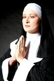 Praing Nonne Lizenzfreie Stockfotografie