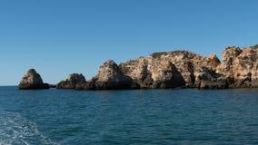 Prainha in Algarve Portugal Royalty Free Stock Images