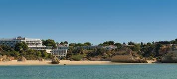 Prainha en Algarve Portugal Imagen de archivo