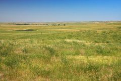 Prairie au Dakota image libre de droits