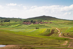 Prairie in Binnenmongolië stock fotografie