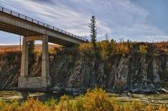 Prairie Bridge royalty free stock image