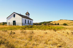 Prairie church Royalty Free Stock Images