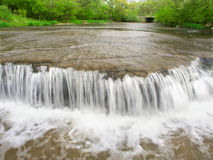 Prairie Creek Falls Illinois Royalty Free Stock Images