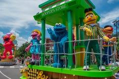 Free Prairie Dawn Dancing In Sesame Street Party Parade At Seaworld 6 Stock Image - 158179951