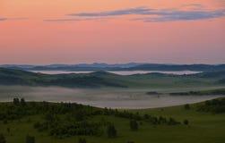 Prairie de Bashang de l'Inner Mongolia Images libres de droits