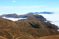 Prairie de montagne en hiver Photo stock