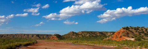 Prairie Dog Town Fork of the Red River. In the Texas Panhandle Stock Photos