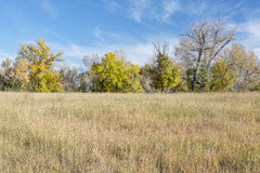 Prairie fall scenery Royalty Free Stock Images