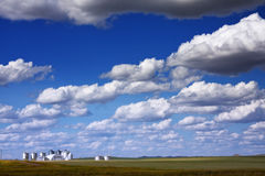 Prairie Farmland Royalty Free Stock Photos