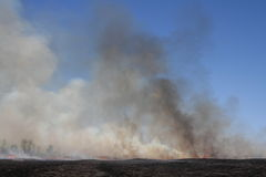 Prairie Fire Stock Photos