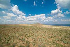 Prairie grass, Hill gunners Stock Photography
