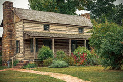Prairie Grove Battlefield State Park. Historic Latta House in Prairie Grove Battlefield State Park, Arkansas Royalty Free Stock Image