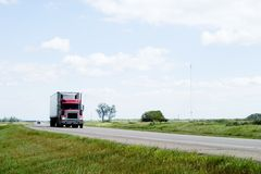 Prairie Highway Royalty Free Stock Photos