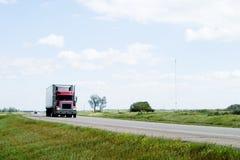 Prairie Highway Royalty Free Stock Photos