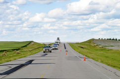 Prairie Highway Royalty Free Stock Photography