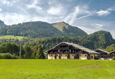 Prairie House in the French Alps Royalty Free Stock Photography