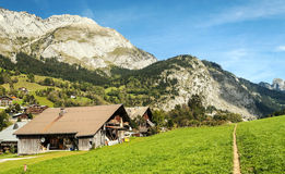 Prairie House in the French Alps Royalty Free Stock Photos