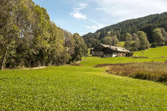 Prairie House in the French Alps Royalty Free Stock Image
