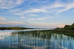 Prairie Lakes Stock Image