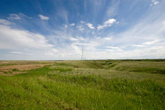 Prairie Landscape Royalty Free Stock Photos