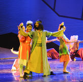 Prairie Prince-The dance drama The legend of the Condor Heroes Royalty Free Stock Photo