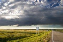 Prairie Road Royalty Free Stock Photo