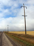 Prairie Road Royalty Free Stock Photography