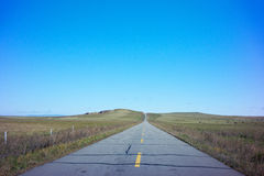 Prairie Road Royalty Free Stock Images