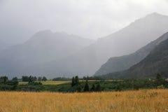 Prairie and Rocky Mountains - Alberta Stock Photos
