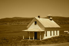 Prairie School House Royalty Free Stock Photo