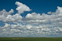 Prairie Sky 2 Royalty Free Stock Image