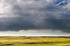 Prairie Sky Landscape Royalty Free Stock Image