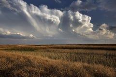 Prairie Storm Clouds stock photos