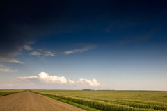 Prairie Storm Landscape Royalty Free Stock Photo