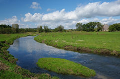 Prairie Stream Stock Photography