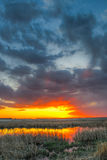 Prairie Sunset Royalty Free Stock Photo