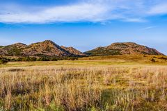 Prairie sur la gamme Image stock