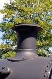 Prairie Tank Locomotive Funnel. Royalty Free Stock Photo