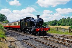 Prairie Tank Steam Locomotive. Stock Image