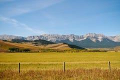 Prairie Views Stock Image