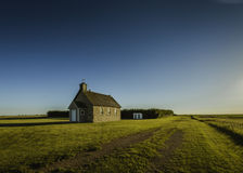 Prairie Views and Rural Churches Royalty Free Stock Image