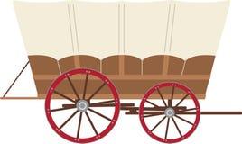 Prairie Wagon Stock Image