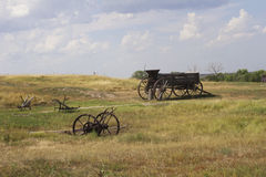 Prairie wagon Stock Photos