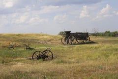 Prairie wagon Stock Photos